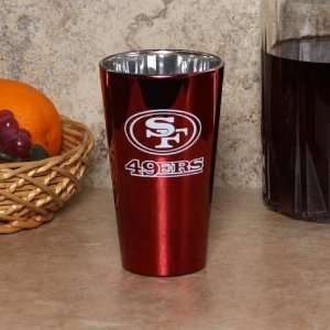 NFL San Francisco 49ers 16oz. Lusterware Pint Glass
