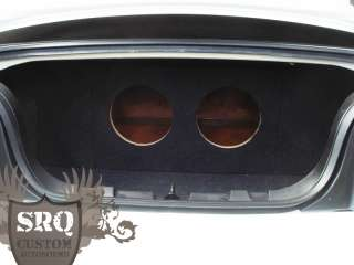 2005 up Ford Mustang Sub Box Enclosure 2 10 Subwoofers