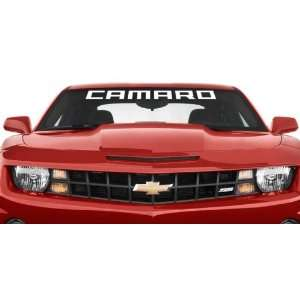 Chevy Camaro Block Style Windshield Banner Vinyl Wall Decal