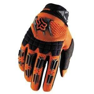 Fox Racing Youth Dirtpaw Gloves   2007   Small/Orange Automotive