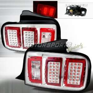 FORD MUSTANG LED TAIL LIGHTS CHROME Automotive