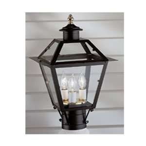 Norwell Lighting 2234 CLBL BL Black Indoor & Outdoor Lighting 3 Light