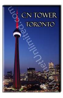 CN Tower in Toronto   Canada Souvenir Fridge Magnet #2