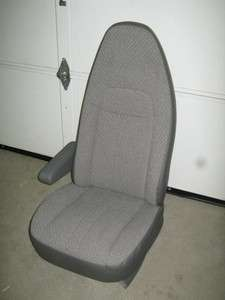 2010 11 Chevy/GMC Express Van Gray Cloth Bucket Seat