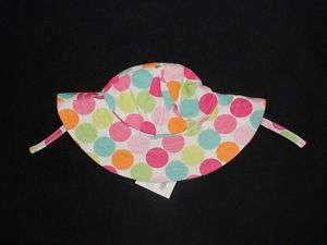 NWT GYMBOREE SWIM POPSICLE PARTY POLKA DOT SUN HAT 0 12