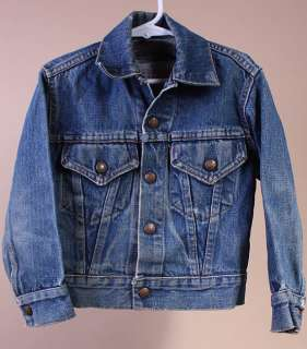 BOYS/TODDLER VTG LEVI BIG E 2 POCKET DENIM JACKET sz M