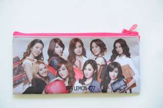 SNSD GIRLS GENERATION Zipper Pen Pencil Case Bag Pouch K15