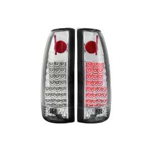 Anzo USA 311005 Chevrolet Chrome LED Tail Light Assembly   (Sold in
