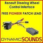 PIONEER   RENAULT Scenic Steering Wheel Stalk Adaptor