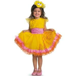 Sesame Street   Frilly Big Bird Toddler / Child Costume, 800387