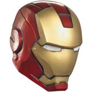 Halloween Costumes Iron Man 2 (2010) Movie   Iron Man Adult Helmet