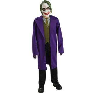 Batman Dark Knight The Joker Tween Costume   Includes Mask, jacket