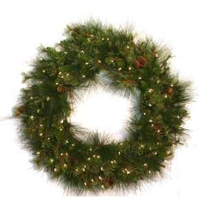 Good Tidings 4755640 Southern Pine Artificial Prelit Christmas Wreath