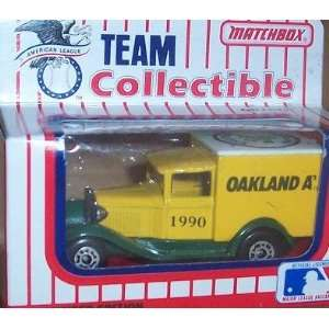 Oakland Athletics As 1990 MLB Diecast Ford Model A Truck