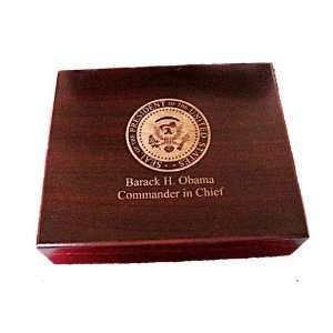 Obama Cigar Box Collectable Humidor