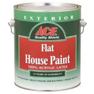 Quality Shield Exterior Flat Latex House Paint