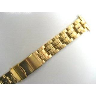 Seiko Original Watch Band Link Style Gold Tone Mens