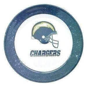San Diego Chargers NFL Dinner Plates (4 Pack) Sports