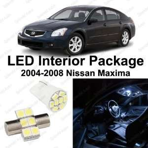 Xenon WHITE LED Nissan Maxima Interior Package Deal 2004