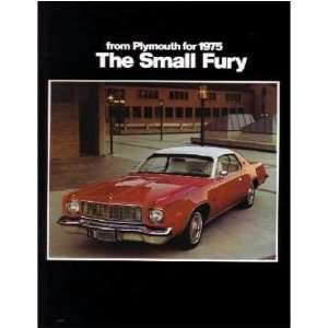 1975 PLYMOUTH FURY Sales Brochure Literature Book