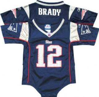 Tom Brady Reebok NFL Home New England Patriots Infant Jersey Clothing