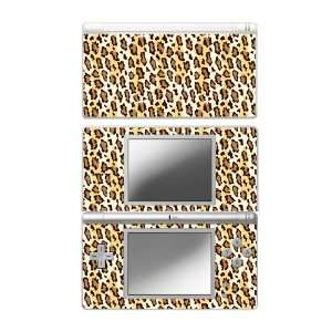 DS Lite Skin Decal Sticker Plus Screen Protector Skin   Leopard Print