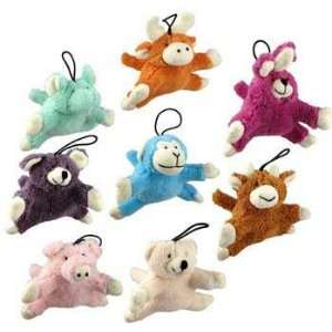 Top Quality Tiny Tails Dog Toy French Terry Mini Animals