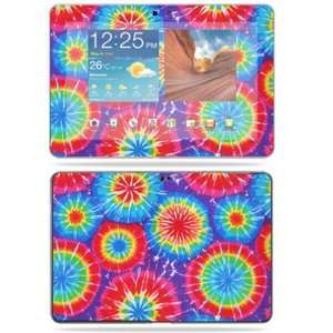 Vinyl Skin Decal Cover for Samsung Galaxy Tab 10.1 Tablet 10 Tie Dye