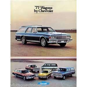 1977 Chevrolet Wagons vehicle brochure