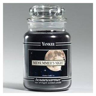 Yankee Candle Large 22 Ounce Jar Candle, Midsummers Night