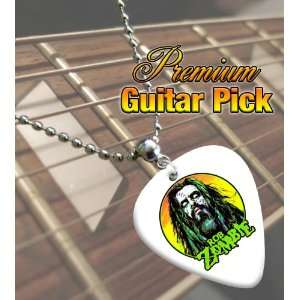 Rob Zombie Premium Guitar Pick Necklace Musical