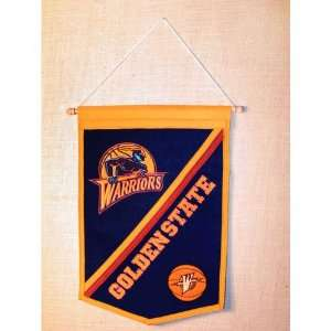 Golden State Warriors NBA Traditions Banner (12x18