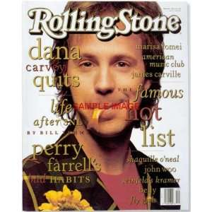 Carvey FUNNY FISH MOUTH ROLLING STONE cover print