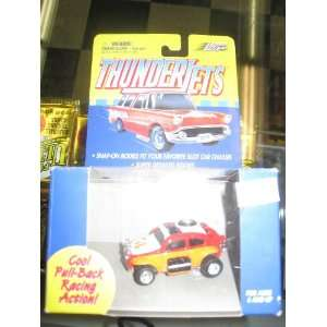 Johnny Lightning Thunder JEts [pull back racing action