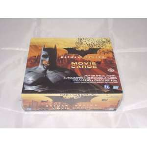 Batman Begins Factory Sealed Trading Card Hobby Box 24 Packs