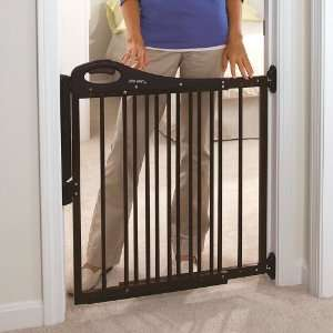 The First Years Learning Curve Wooden Slimline Baby Gate