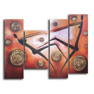 Falling Away Hand Painted Canvas Art Oil Painting