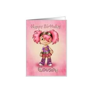 Cousin   Birthday Card   Little Rock Chick Card Health