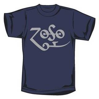 Jimmy Page Classic Zoso Logo Mens Tee Shirts Small thru XXL