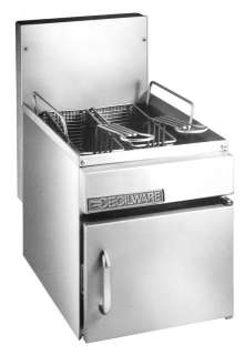 CECILWARE GF10 Commercial GAS DEEP FRYER Nat/LP 13 lbs