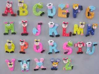 Letter Alphabet fridge Magnet Educational Toy Baby Gift n 9