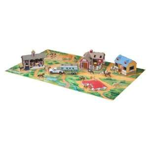 Breyer Horses Stablemates Playmat with Horse Toys