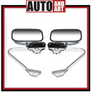 FORD BRONCO TRUCK MANUAL MIRROR 80 87 88 89 90 91 PAIR
