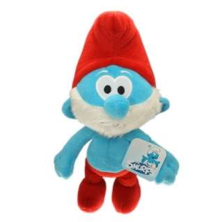 Character Soft Plush Toy Papa Smurf 13 Stuffed Animal Teddy Doll NWT